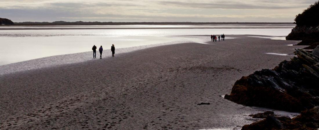 beach near tudor lodge porthmadog