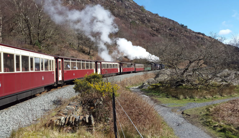 tudor lodge porthmadog is great for a trip on the ffestiniog railway