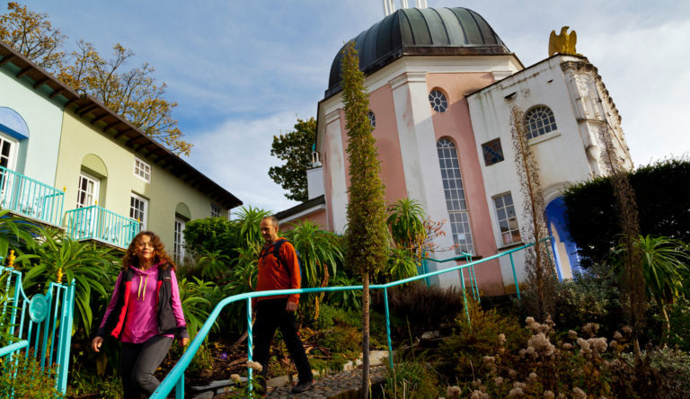Visit Portmeirion while staying at the best hotel in Porthmadog