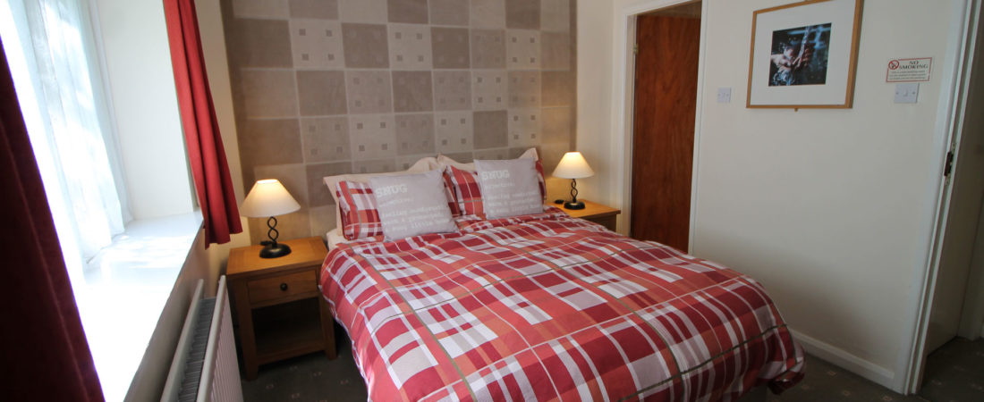 double bedroom tudor lodge wales
