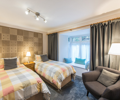 Cumbria - Twin Room - Luxury - Free breakfast - modern - power shower - en suite
